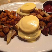 Crab Cakes Eggs Benedict with DD Hash
