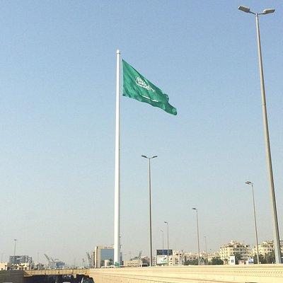 World's tallest flagpole