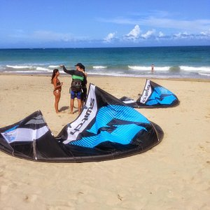 Kitesurfing lesson Puerto Rico