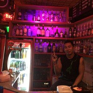 Cool bartender Rod