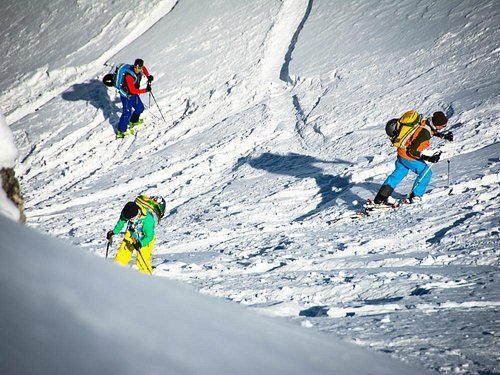 guided Skitours
