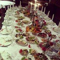tavola per festa