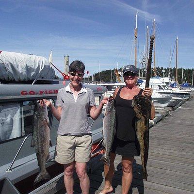 Sisters Fishing Trip