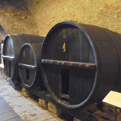 Museo di Storia dell'Agricoltura e Artigianato, barricas