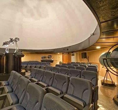 В зале калужского планетария