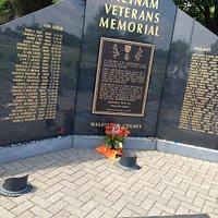 Vietnam Veterans Memorial in Ypsilanti, Michigan