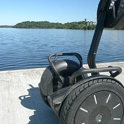Segway by the lake at Lough Key Forest & Activity Park