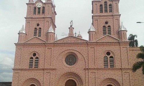 La fachada de la Basílica