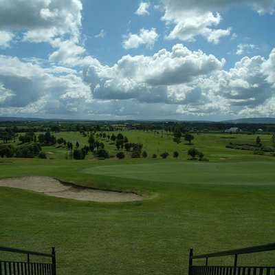 View from clubhouse