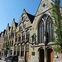 Belle Godshuis museum Rijselstraat Ieper