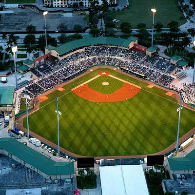 Aerial View of the Roger Dean Stadium