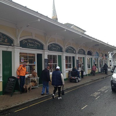 Butcher's Row next to the market