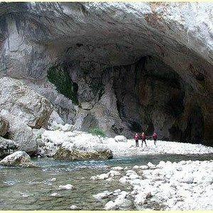 Sentier Martel - die Taubenhöhle