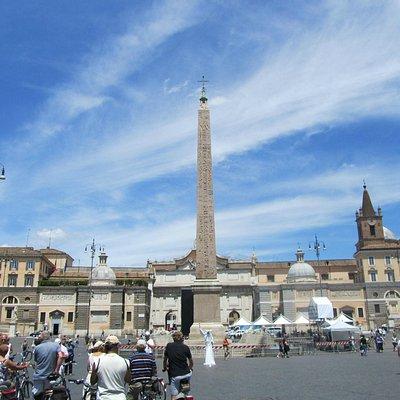 Obelisco Flaminio - Piazza del Popolo, Roma
