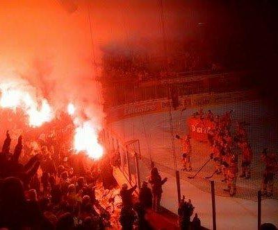 Le soir de la promotion du club en ligue nationale B