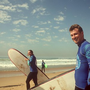 Smile even before you surf with Cascais Surf School