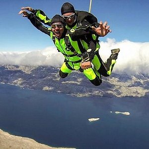 Tandem skydiving Croatia