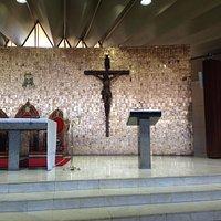 altar revestido com ouro