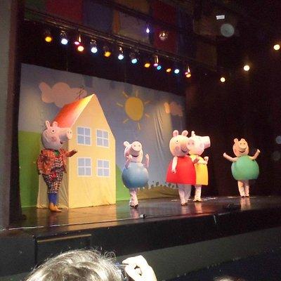peça Peppa Pig no Rute Escobar