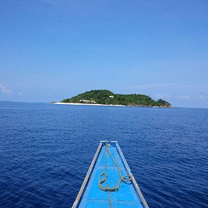 View of the Island where Dugong Dive Centre is located