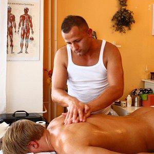 Masaz zad/ Back massage