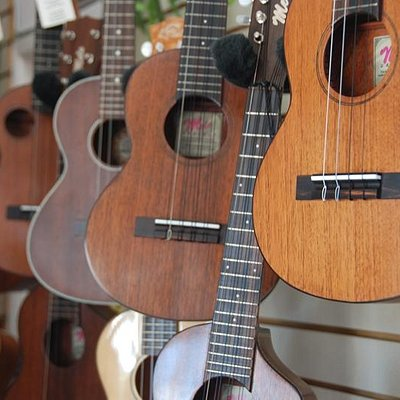 Ukes and more ukes