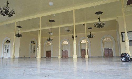 Pendopo tempat menggiring P Diponegoro