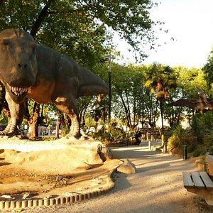 Plaza Jurasica en Plaza Acevedo