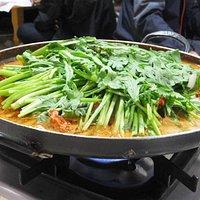 韓国風鴨鍋