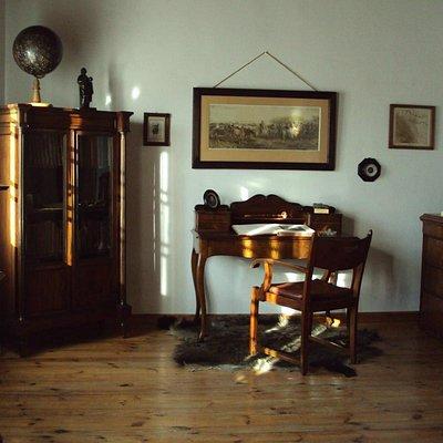 Wnętrza Dworku