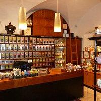 Чайный магазин при кафе