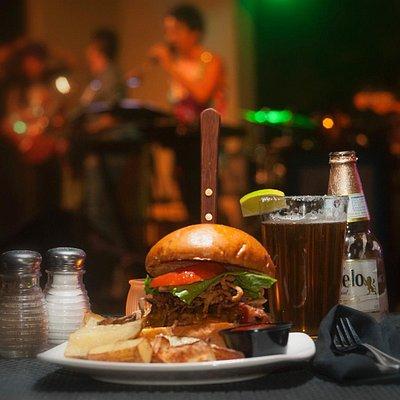 Monterey Burger and Music. Yum!