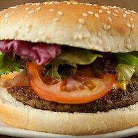 Classic Gourmet British Beef Burger