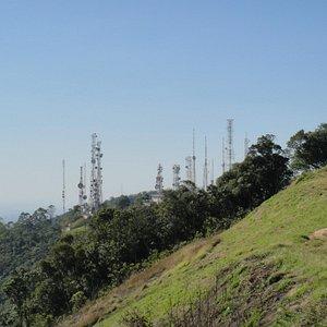 vista das antenas face Norte