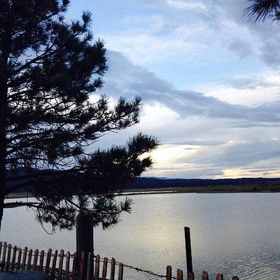 Sunset at Storrie Lake