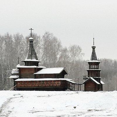 Спасская церковь! Главная достопримечательность музея!
