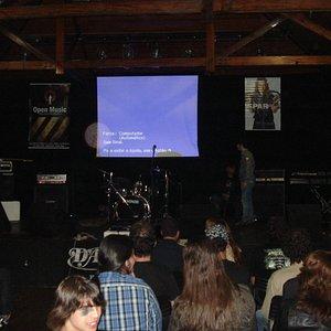 Workshop Kiko Loureiro no CCBM