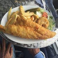 Fresh Haddock and chips