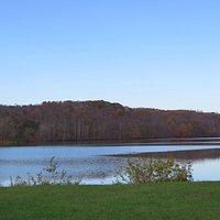Lake Logan in late October