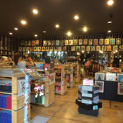 One of Artbook bigest branches at 158ed dong khoi