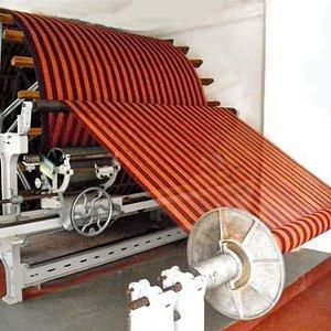 Our 19th century warping machine