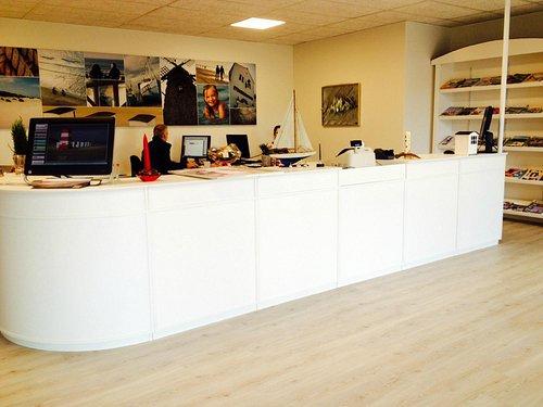 The office inside