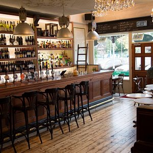 The bar in all its glory!
