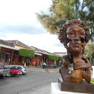 Around the main plaza