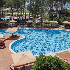 The Main Pool at Ali Bey Resort Sorgun