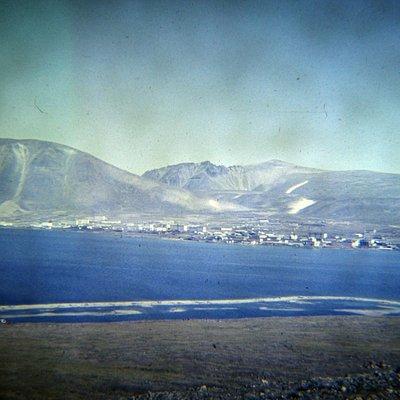 Вид на поселок Провидения от с.Урелики.