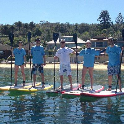 Sunny paddle