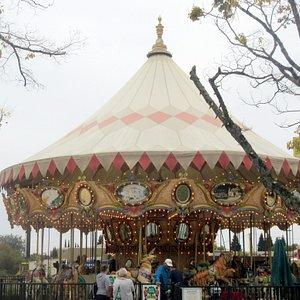 Carousel, Nut Tree Family Park, Vacaville, Ca