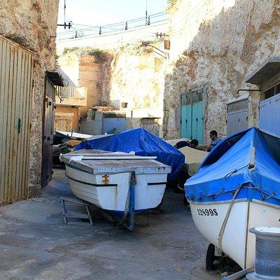 Boats at Ghar Lapsi