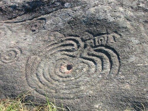 Uno de los petroglfos de Mogor
